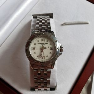 Raymond Weil Tango Mother of Pearl Watch 5399